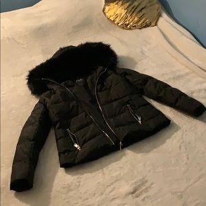 Zara Woman's Puffer Coat w/ Faux